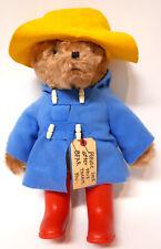 Vintage Paddington Bear 1975 Label Darkest Peru London England Original Clothes