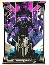 Matt Taylor Black Panther variant print Mondo screen print Marvel movie poster