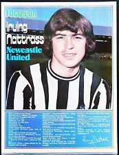 FOOTBALL PLAYER FOCUS IRVING NATTRASS NEWCASTLE UNITED SHOOT
