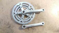 Vintage Sugino GT 170mm crankset 34-42-52t 110 BCD Old School BMX Road Touring