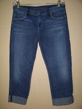 Citizens of Humanity Jeans Dani Cropped Straight Leg Capris Womens Sz 31 x 24