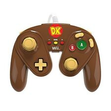 Wii U-ORIGINAL SUPER SMASH BROS. controller-Donkey Kong Edition (Nuovo & OVP)