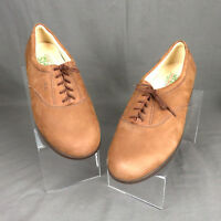 SAS Tripad Comfort Womens Size 12 N Brown Suede Nubuck Lace Up Oxford Shoes