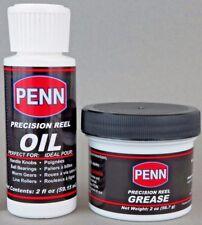 Penn Lubrication Combo Reel Oil & Grease (2 oz each) 2OZOILSD24 & 2OZGSESD12