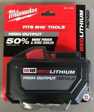 MILWAUKEE M18 REDLITHIUM HIGH OUTPUT HD12.0 brand new sealed