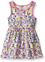 Marmellata Baby Girls' Sleeveless Knit Dress, Multi, 18M