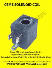 Ceme solenoid 230 volt coil (Oblong)  ODE universal - SALE SALE SALE SALE SALE