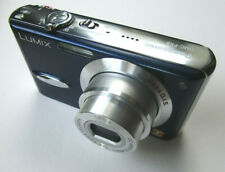 Panasonic LUMIX FX8 blau LEICA-Optik +Zubehörpaket +SD-Karte +Tasche +2.Akku  °3