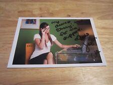 Jayden Cole Adult Model/Actress Autographed/Signed 4X6 Photograph Penthouse Pet