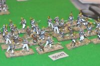 28mm napoleonic / french - skirmishers 32 figures plastic - inf (33069)