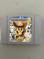 Mario Party 2 (Nintendo 64, N64) Authentic Tested Working Game Cartridge Only