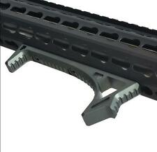 Metal LINK Curved Angled Foregrip Front Grip Fits M-LOK MLOK Handguard Rails