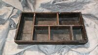 Antique Wood Dovetail Box Crate high explosives