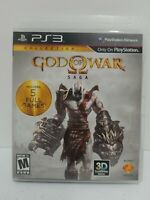 SONY PLAYSTATION 3 PS3 - Gods of War Saga - Includes 5 Full Games Tested Works