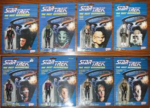 Star Trek Next Generation Galoob 8 Figures Q Selay Ferengi Antican Speck Data +