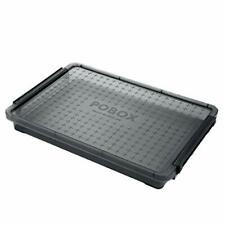 Hipiwe Clear A4 File Box Stackable Portable Project Case Desk File Containe