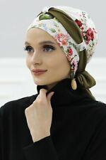 BO-24 Fertig Kopftuch Praktisch Hijab Bone Türban Esarp Sal Tesettür Turban