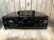 Nice 6.1 Home Theater Receiver Stereo MOS-FET Panasonic SA-HE100