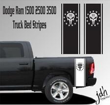 3 Percent Truck Stripe Vinyl Decal Sticker Fits Ram Ford Tundra Nissan 1500 2500