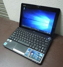 "ASUS Eee PC 1015PEM 10.1"" Intel Atom N550 1.5GHz 2GB 250GB Win 10 Netbook"