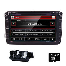 "8"" Car Stereo DVD CD Player For VolksWagen VW GPS Nav Touch Screen Bluetooth+Map"