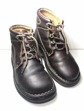 Born Men's Brown Leather Casual Chaka Excellent Hiking Outdoorsman Boots 9.5 M W