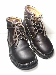Born Women's Brown Leather Casual Chaka Excellent Hiking Outdoors Boots 9.5 M W