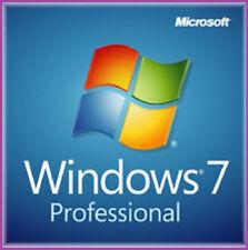 Microsoft Windows 7 Professional PRO 64 Bit Full Version SP1 and Product Key