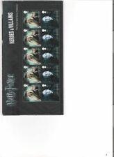 2007 ROYAL MAIL PRESENTATION PACK HARRY POTTER HEROES & VILLAINS
