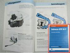 SSP 68 VW Scirocco II GTX 16V Konstruktion Funktion Motor KR 1985