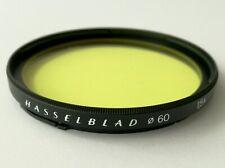Hasselblad B60mm yellow filter bay b 60 for CF 80mm planar 150mm Sonnar
