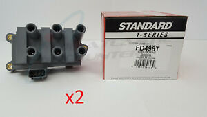 2 Standard Motor/T-Series FD498T Ignition Coils for Ford Mazda Mercury
