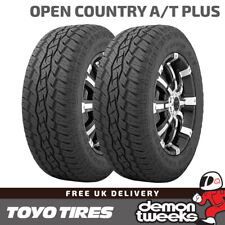 2 x Toyo Open Country A/T Plus Road / Off Road Tyres 235 65 17 235/65/17 108V XL