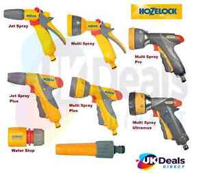 HOZELOCK Quick Connection Hose Pipe Attachment Watering Spray Guns, Nozzle