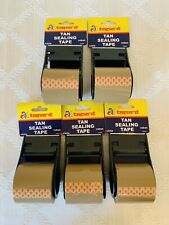 Sealing Shipping Box Packing Tape With Handle Dispenser 189 X 800 5 Total