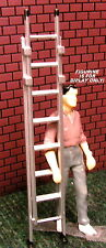 Extension Ladder Miniature Two Pieces 1:24 (G) Scale Diorama