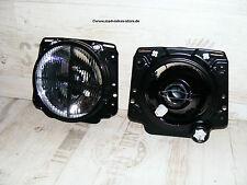 schwarze Fadenkreuz Scheinwerfer VW Golf 2 II 19E GTI 16V G60 Rallye Syncro US