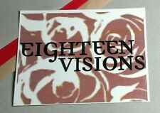 EIGHTEEN VISIONS OBSESSION MUSIC Sticker