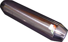 """Tornado Resonator, Hot Dog, 15"""" x  3"""" in/out HIGH FLOW Stainless Steel (RES01)"""