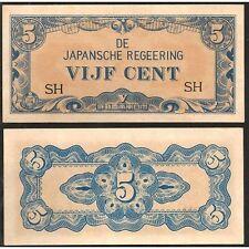 NETHERLANDS INDIES  5 Cents 1942 UNC P 120 b RARE !!!