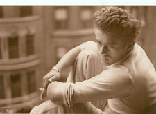 JAMES DEAN IN SEXY WHITE TURTLENECK ON POSTCARD (JD-BX47*)