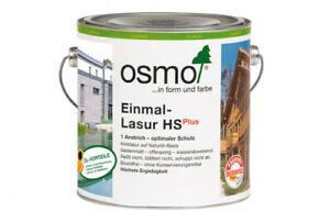 OSMO Einmal Lasur HS Plus   diverse Dekore 2,5 Liter