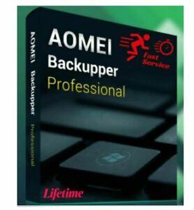 ✅AOMEI Backupper Professional 6.2.0 Edition ✅LifeTime Global Key
