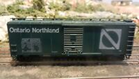 Athearn HO BB 40' Boxcar, Ontario Northland Upgraded, Exc.
