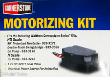 Walthers HO #933-1050 Motorizing Kit-DC Motor & Gearbox (NEW)