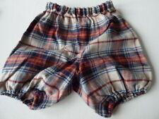 BONPOINT Bébé Bloomers 12 M 18 M Couche Housse Pantalon tartan coton Shorts nouveau Plaid