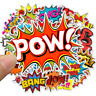 50 Cartoon Comic Hero Stickerbomb Aufkleber Sticker Mix Decals marvel Phone POW