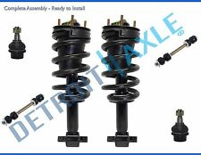 New 6pc Complete Front Quick Install Ready Strut Suspension Kit for Chevy - 4x4