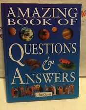 AMAZING BOOK OF QUESTIONS & ANSWERS HARDCOVER BOOK GREAT CONDITION