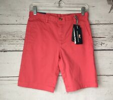 NWT Vineyard Vines Boys Breaker Shorts Size 14 Jetty Red